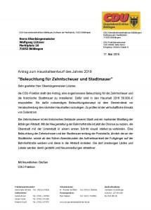 2015-05-17 CDU Antrag Beleuchtung Zehntscheuer
